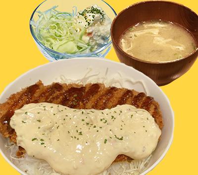 タルチキ丼